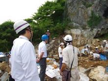 「東通村の安部洞窟」写真