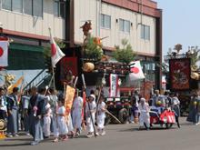 「大畑八幡宮例大祭」写真