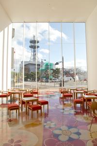 対談場所:十和田市現代美術館