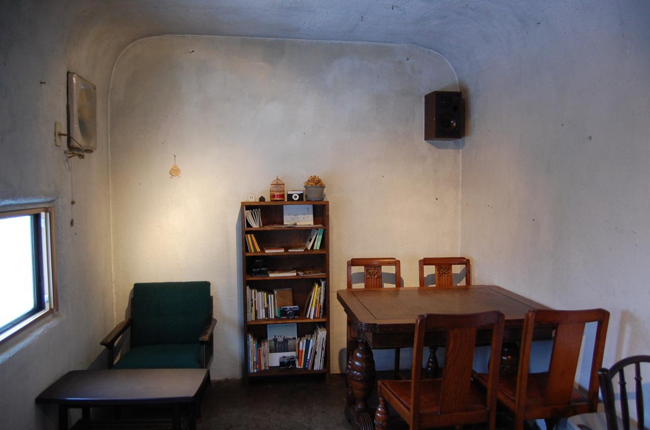 洞窟のような隠れ家喫茶店 ゆぱんき