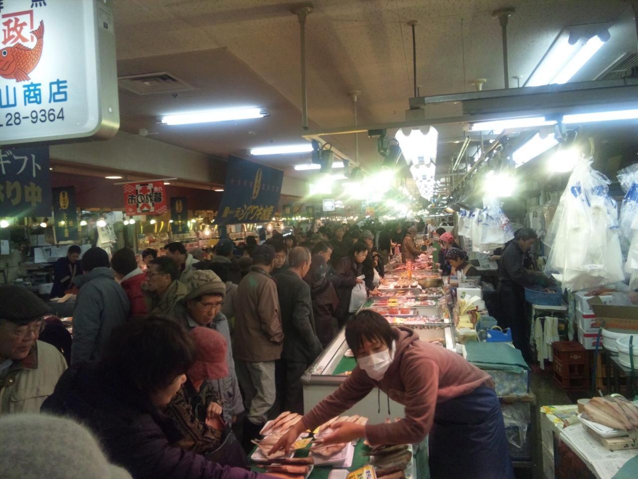 八食センターは八戸の台所