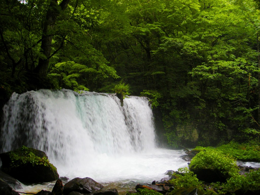 青森 三八 十和田市 風景 滝 子ノ口 銚子大滝 奥入瀬渓流