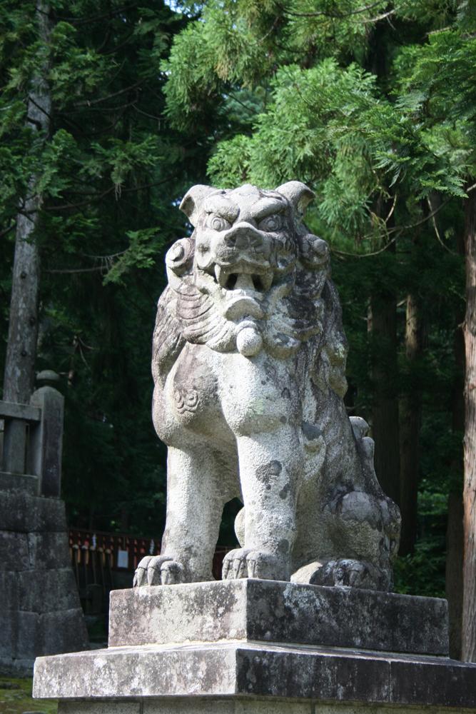岩木山神社 狛犬