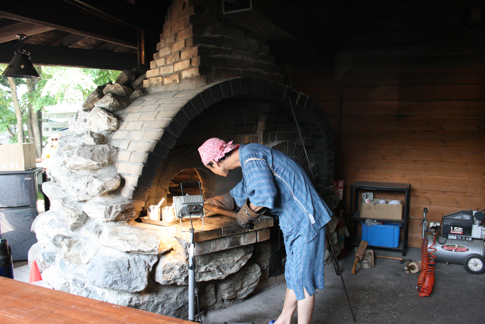 ノースビレッジ石窯ピザ