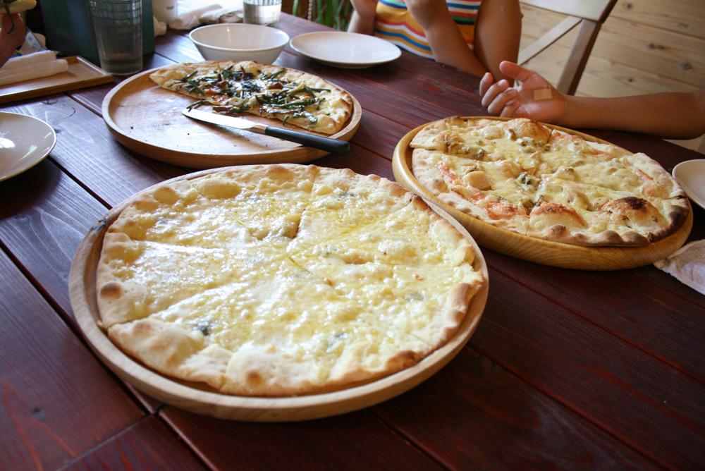 ノースビレッジの石窯ピザ
