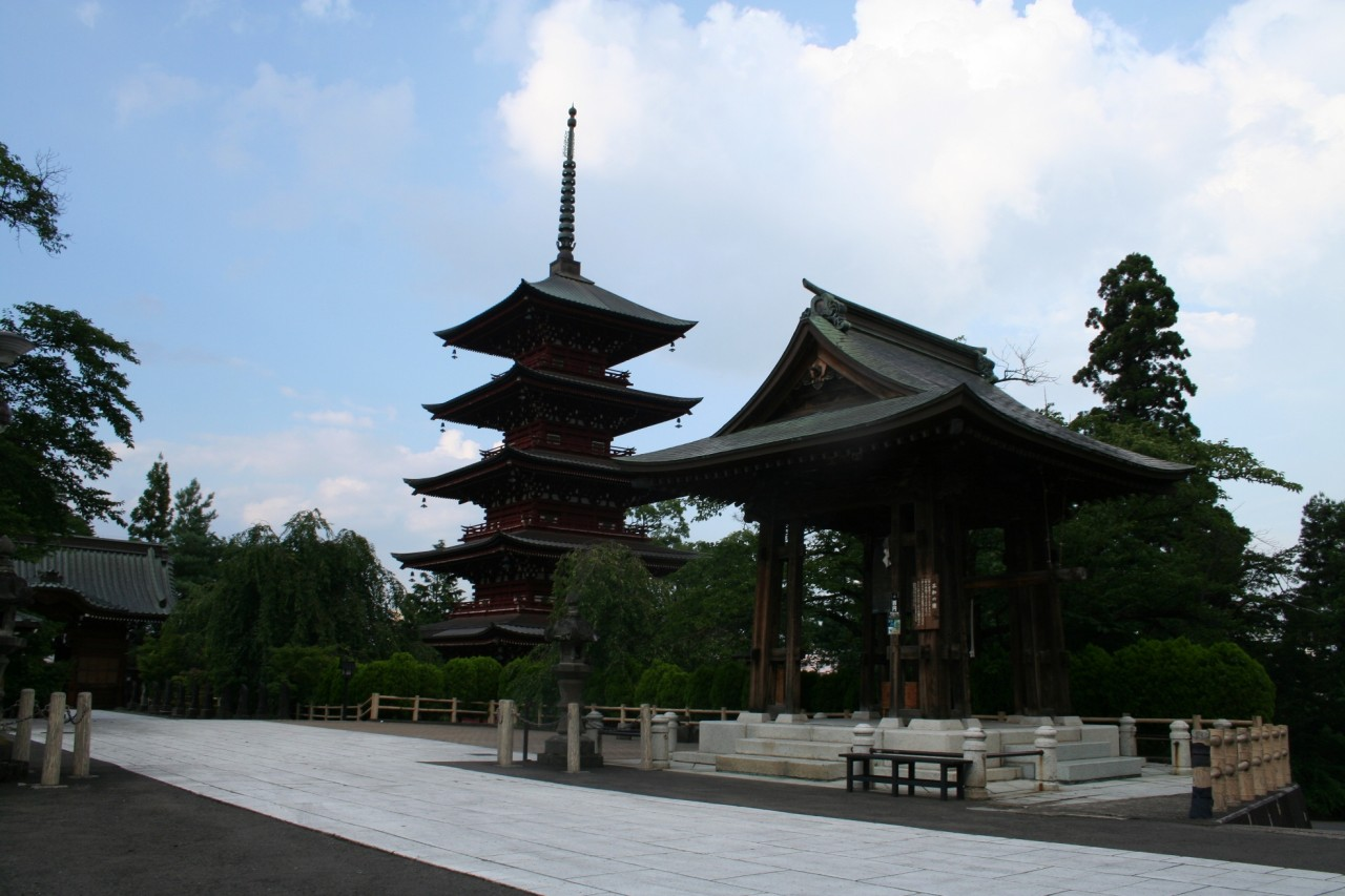 five story pagoda in Hirosaki