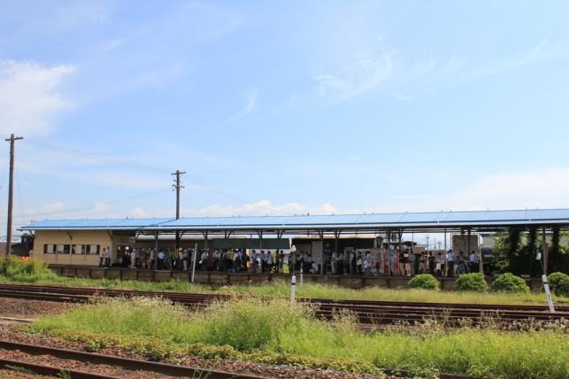 津軽鉄道ホーム