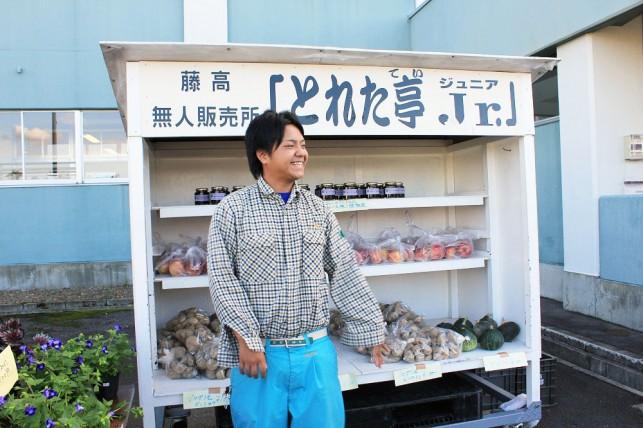 弘実学生の直売市「とれた亭Jr.」@藤崎校舎