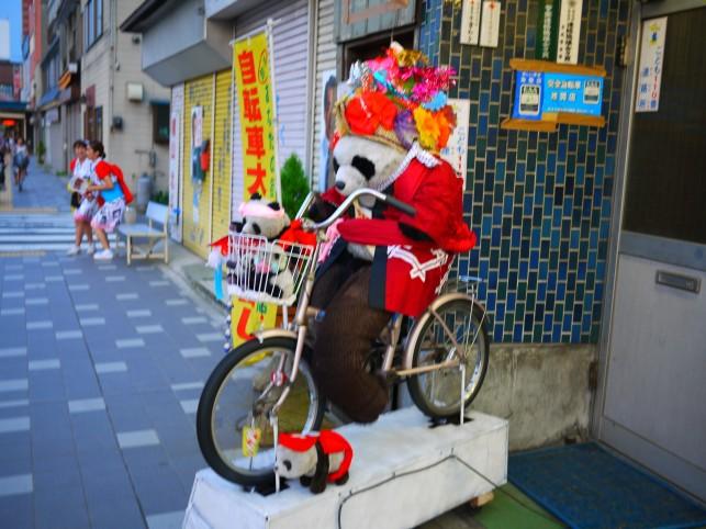 パンダ自転車2~ねぶたバージョン~