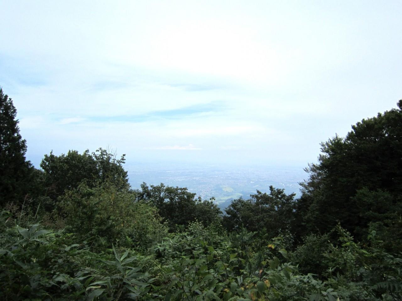 青森 風景 夏 津軽 弘前市 津軽三十三観音 久渡寺 頂上 山 自然