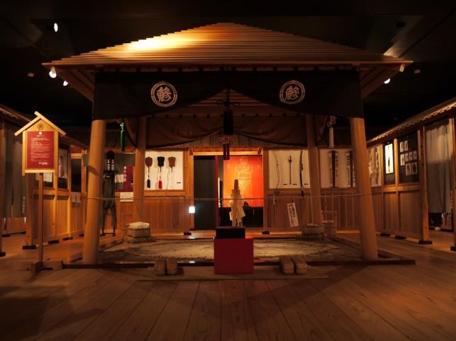 画像:相撲館 内部3