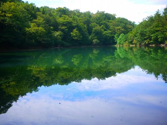 画像:日暮の池