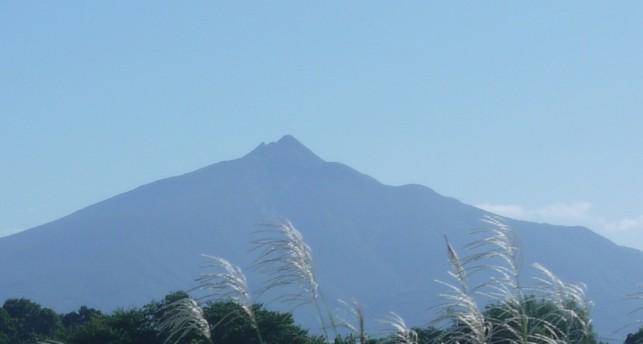画像:岩木山