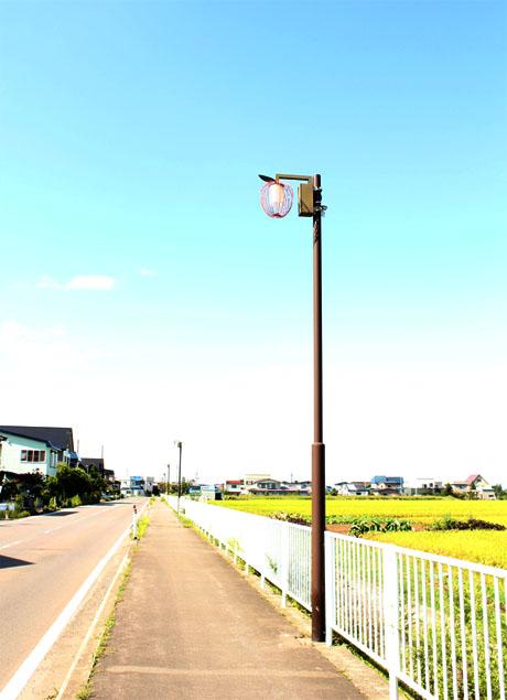 りんごの街灯~鶴田~