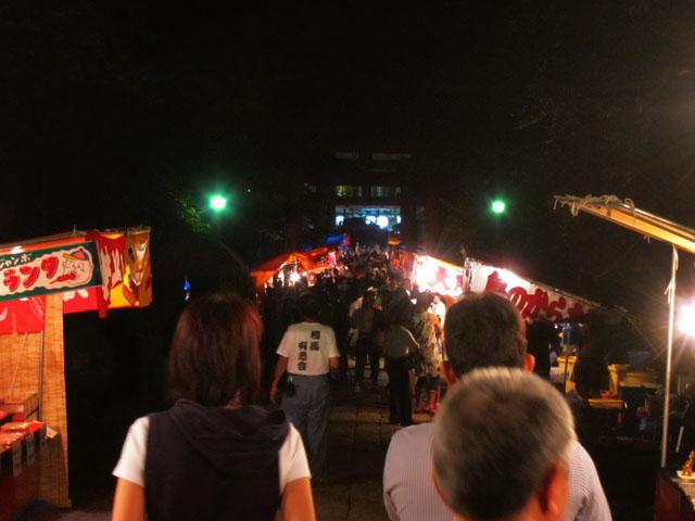 お祭り、露店、そして笛~岩木山お山参詣2010