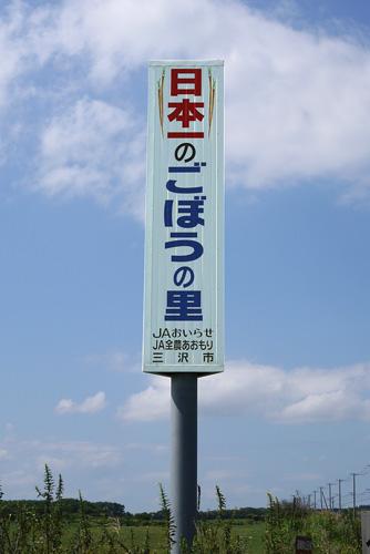 日本一のごぼうの里