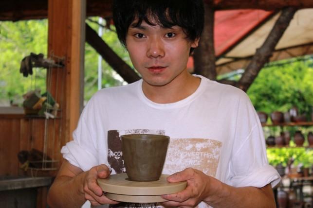 成田君と陶器