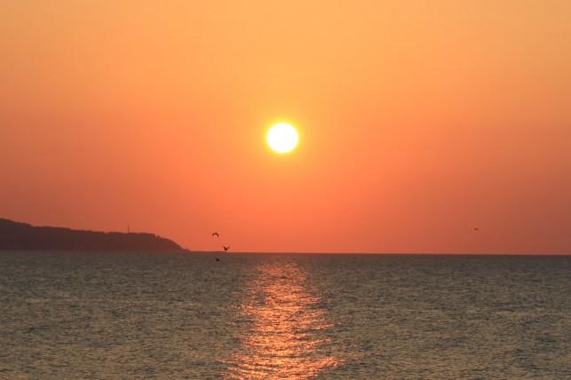 真っ赤に燃えろ日本海!! 夕陽海岸~陸奥赤石周辺~