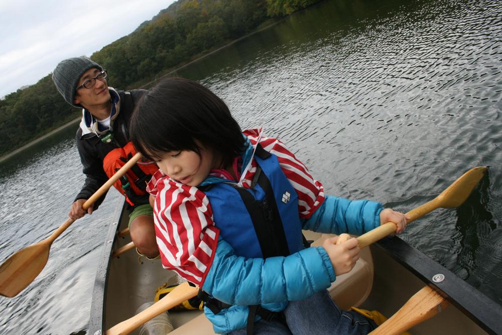カヌーと焚き火のキャンプツアー【カヌー編】
