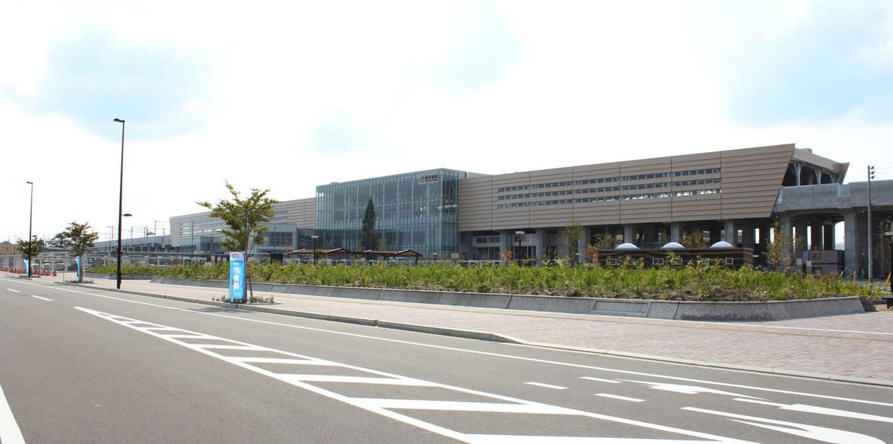 東北新幹線 新青森駅 開業2ヵ月前くらい