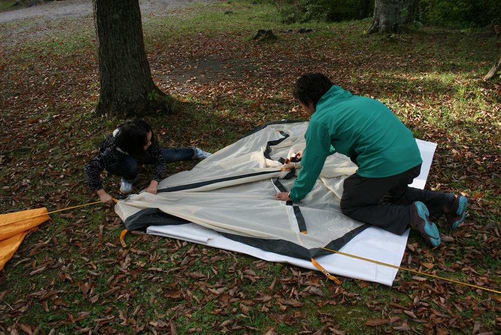 ノースビレッジ 秋のカヌーキャンプ