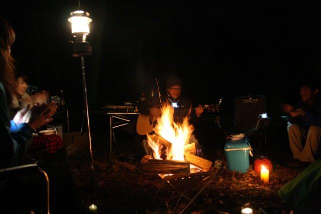 カヌーと焚き火のキャンプツアー【焚き火編】