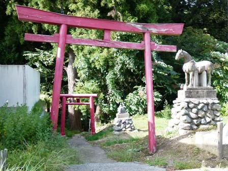 西目屋村のアドベンチャー神社