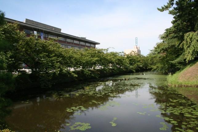 弘前城の水戸違い