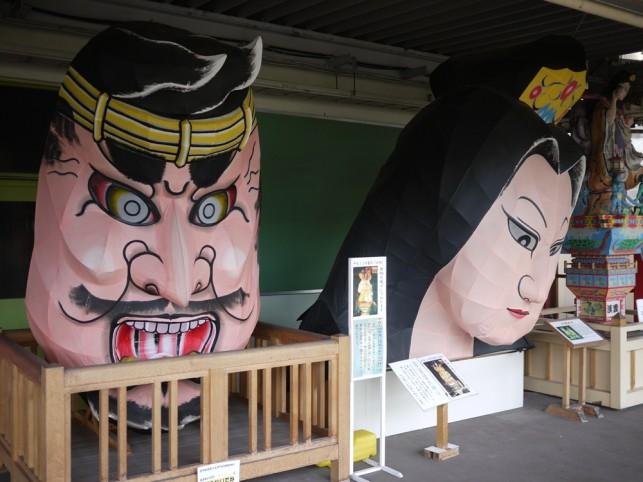 『町の顔』立佞武多 JR五所川原駅 ~五所川原市~