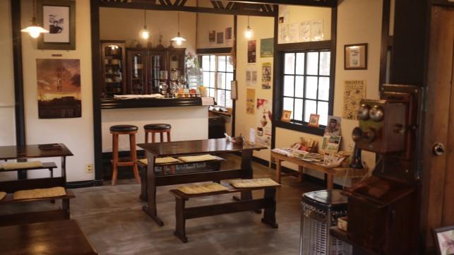 築80年の伝統的な建物~金木 喫茶店「駅舎」~