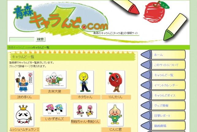 青森キャラんど.com