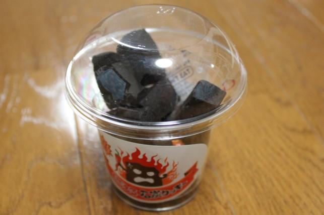 燃える石炭クッキー