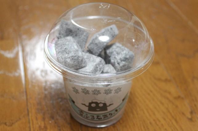 雪降る石炭クッキー