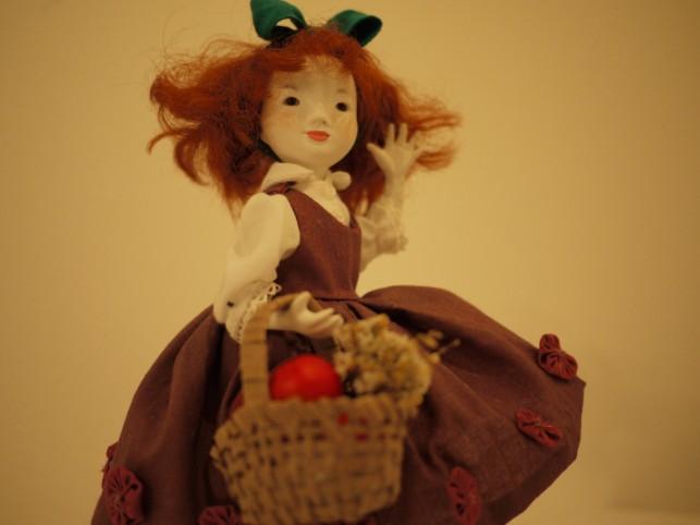 ストーリーの中の人形たち~東北町の人形作家 佐野橙子さん~