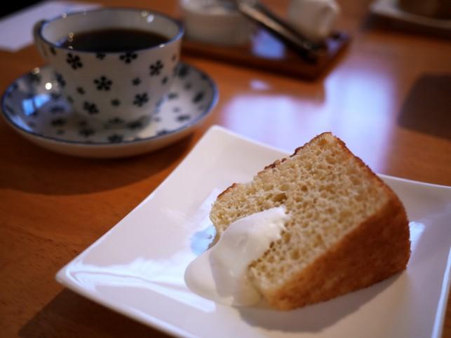 幸せシフォンケーキ@cafe シェモア