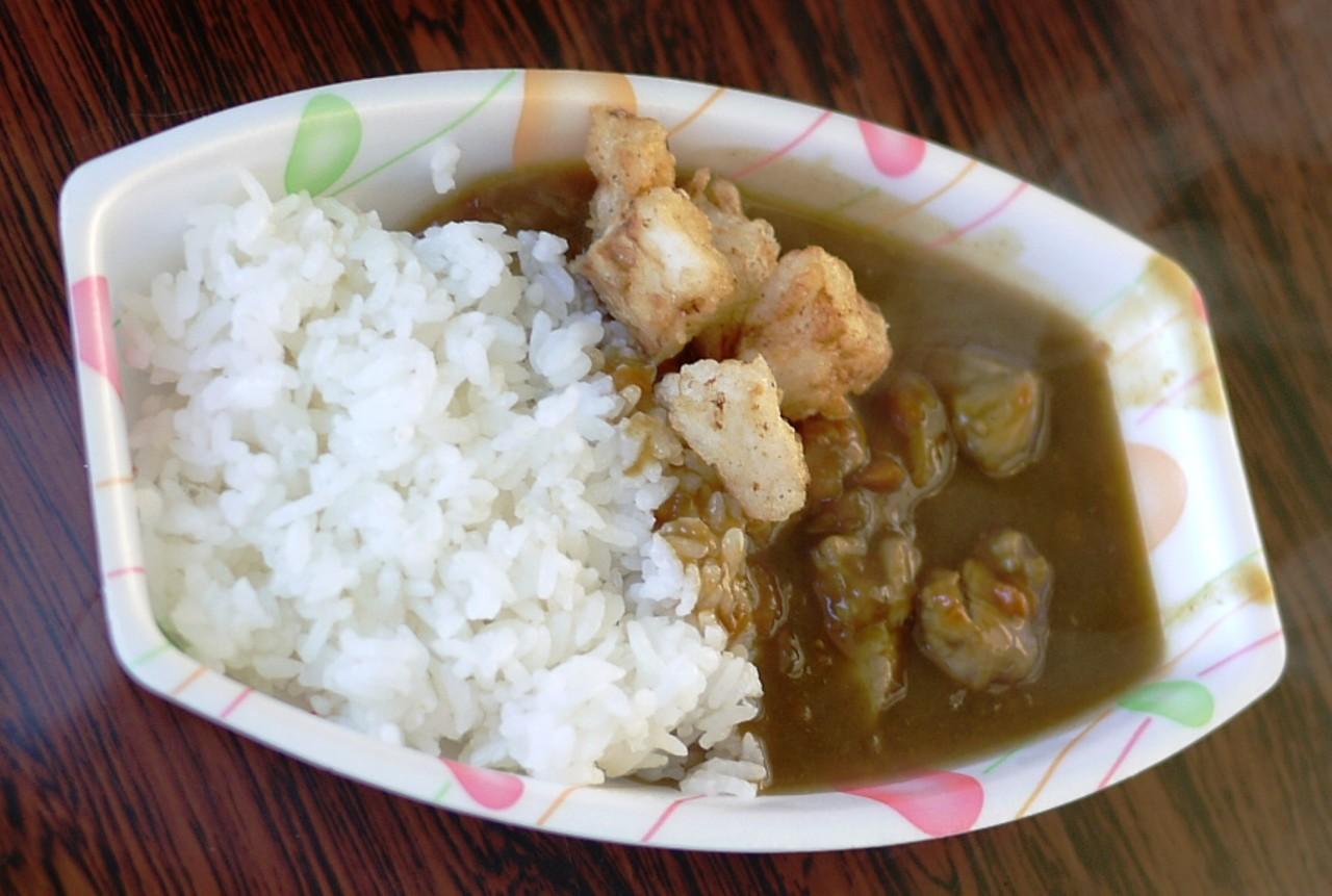 青森 食べ物 三八 三沢 カレーライス