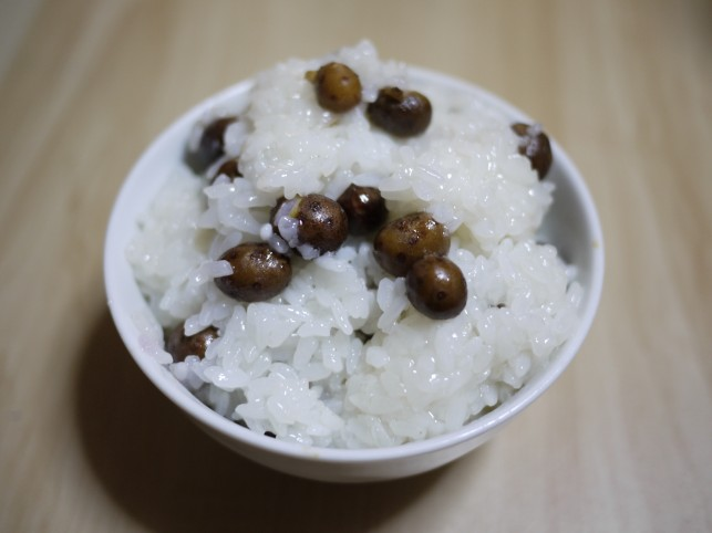 """長芋産地ならではの""""むかごご飯"""" in三沢"""