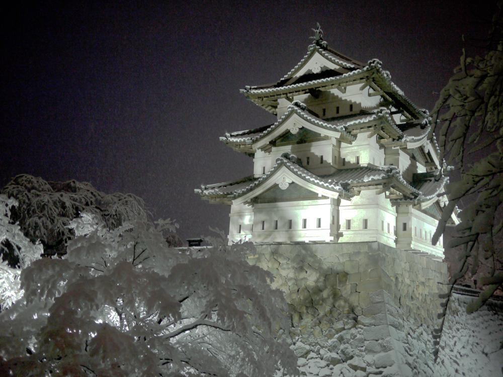 画像:弘前城1