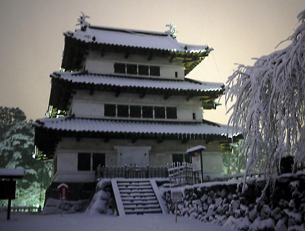 画像:弘前城2