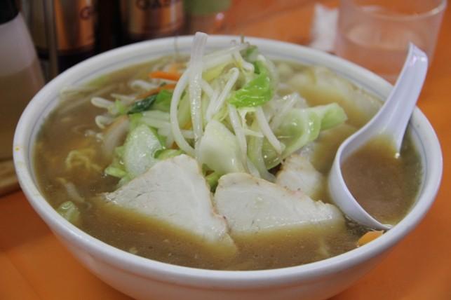 醤油野菜チャーシューひとつ!八戸市江陽 ノサップ