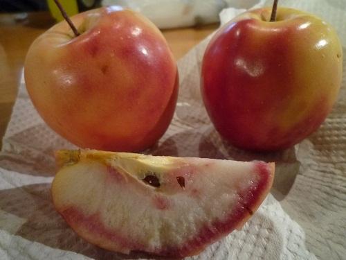 pinkの味?「赤~いりんご」のりんごドレッシング