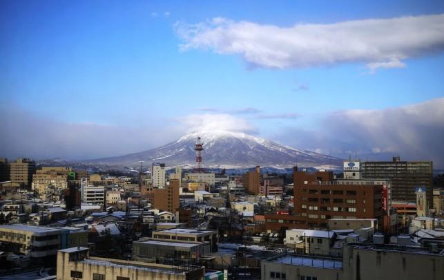 12月10日の岩木山