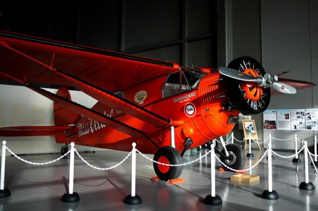 ミス・ビードル号復元機が三沢市にやってきた!