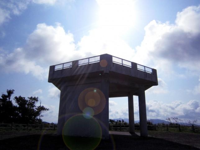 津軽半島最北端手前から