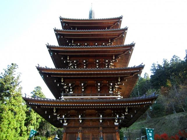 青龍寺五重塔