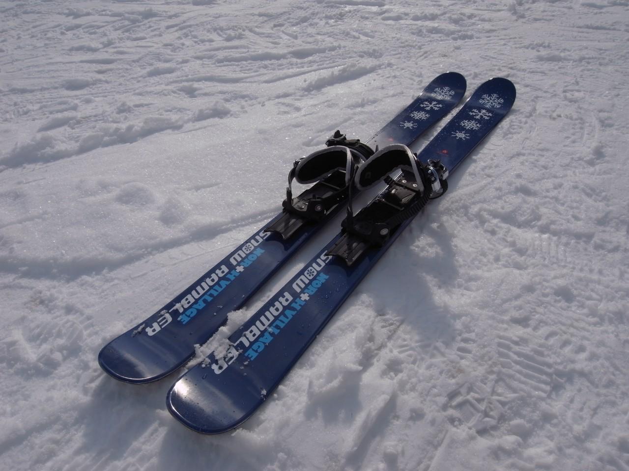 すべらないスキー