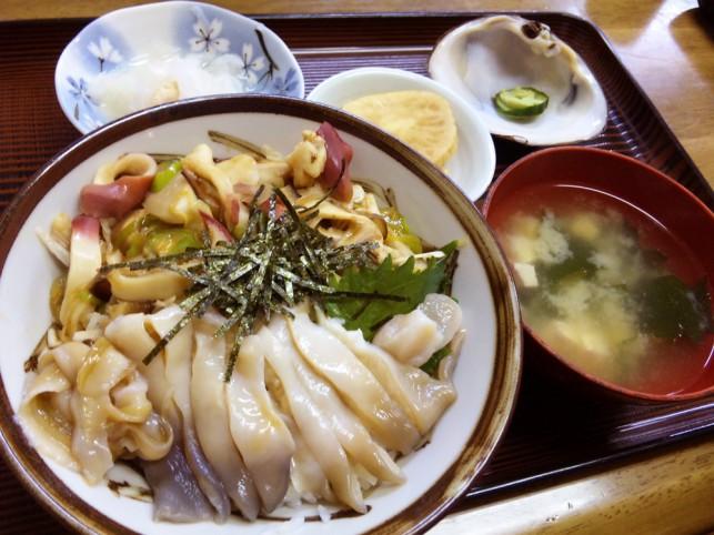 三沢ほっき丼@きらく亭