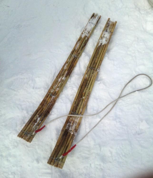 竹スキーであそぼ@十和田市駒っこランド