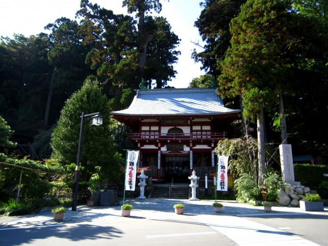 海と青空と円覚寺(第10番札所)