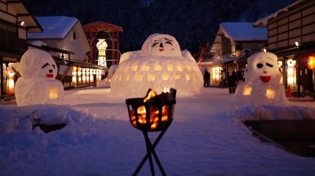 雪の降るさと2011~伝承工芸館~